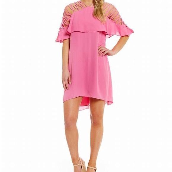 cd0975fb92c Sale!Gianni Bini Bubblegum Marina Dress